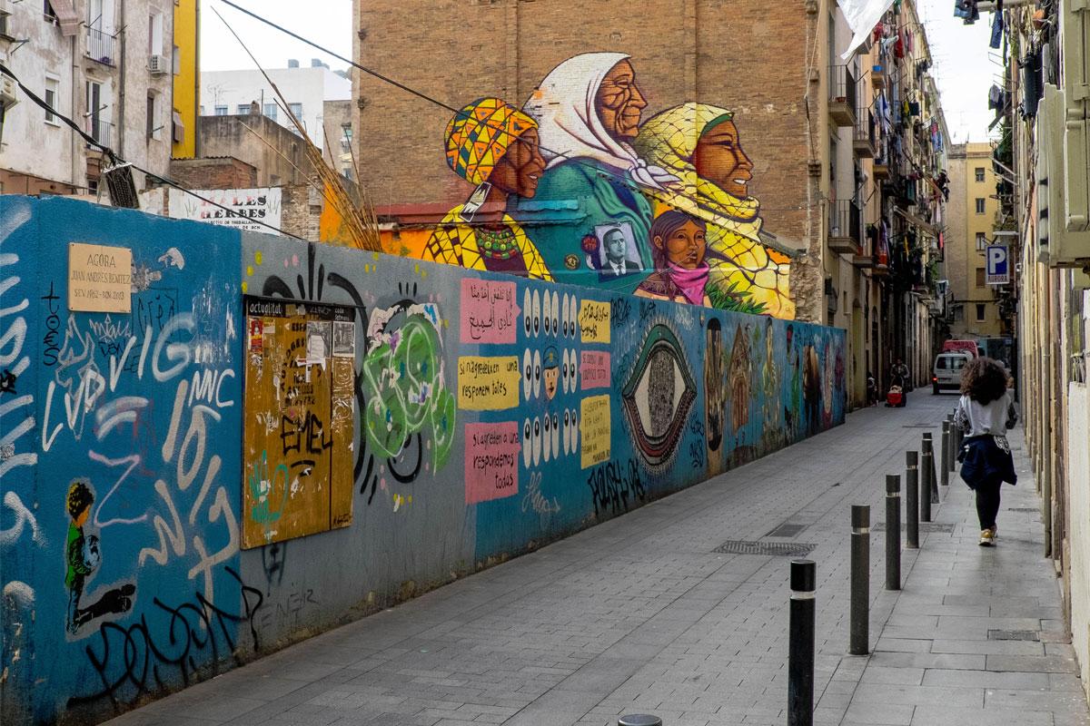 Эль-Раваль в Барселоне