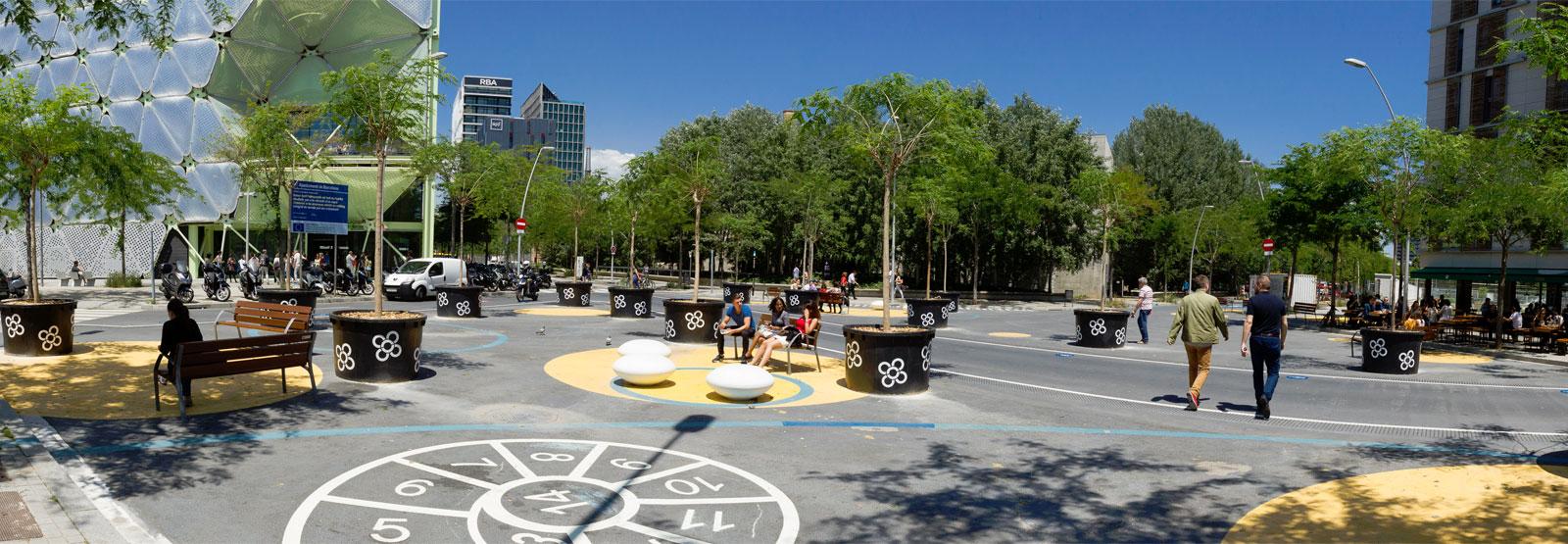 квартал Суперрия в районе Сан-Марти (Барселона)