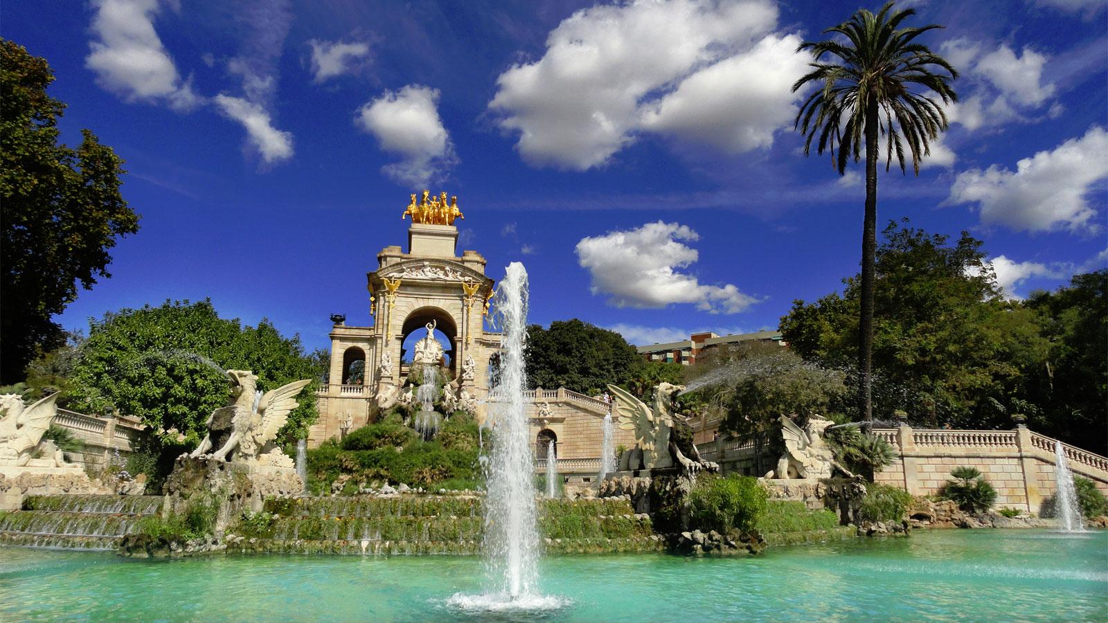 фонтан Большой Каскад в парке Цитадель