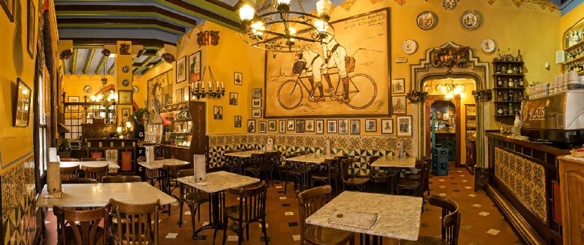 кафе «4 кота» в Барселоне