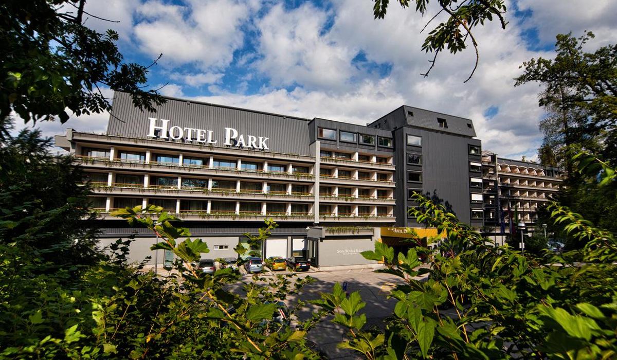 отель «Парк» у озера Блед