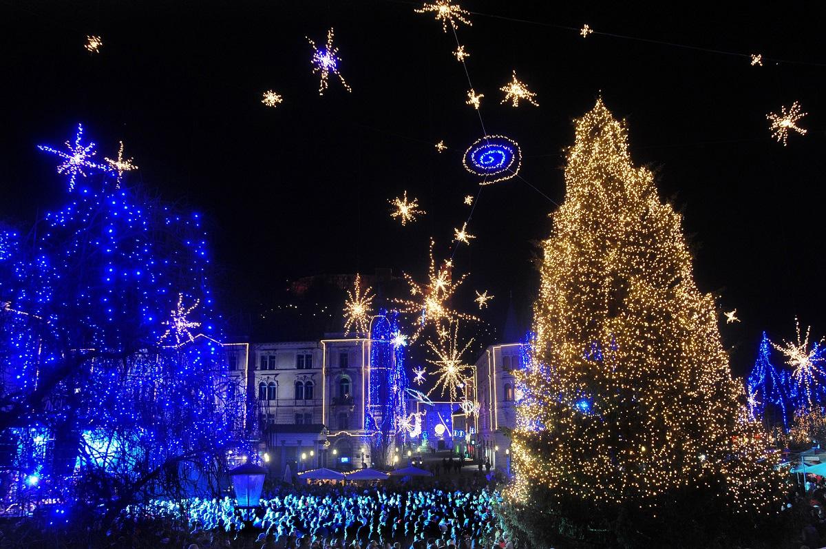 Новый Год и Рождество на озере Блед