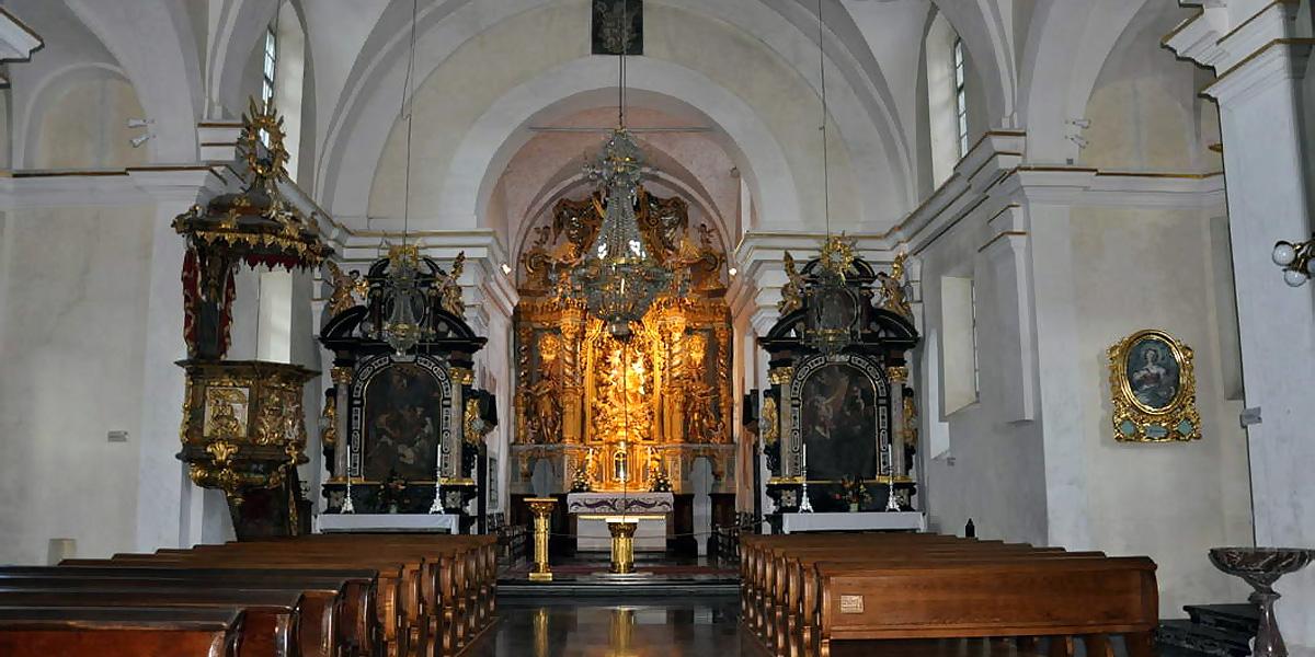 внутри церкви Святой Марии