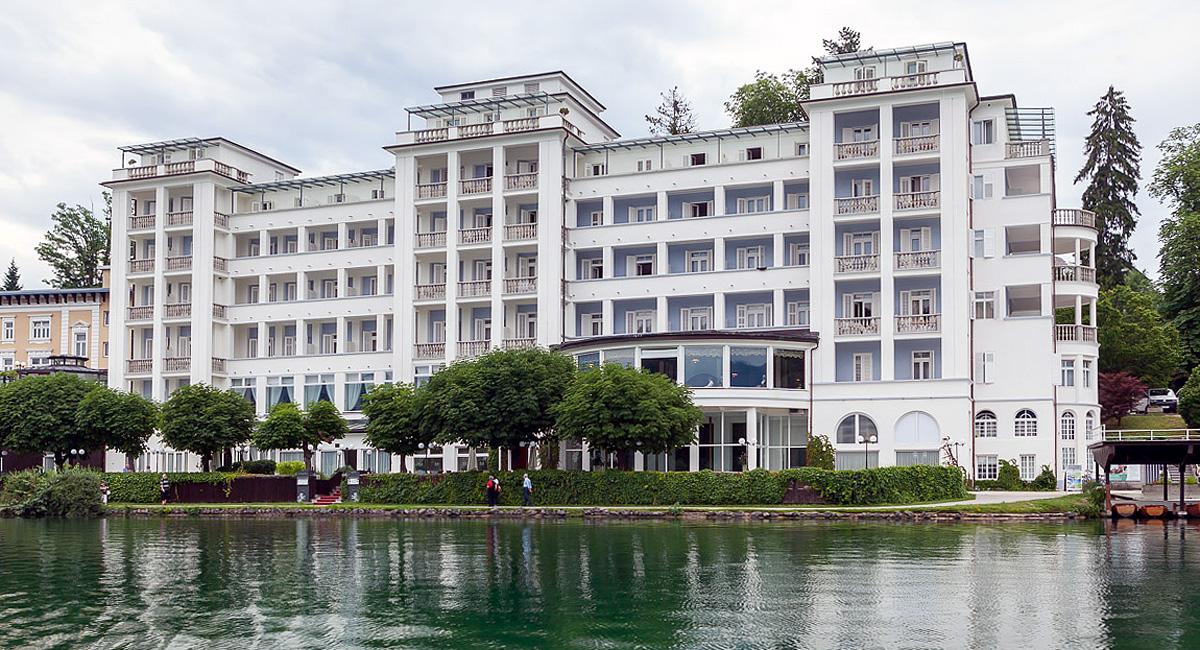 Гранд-отель Топлис у озера Блед