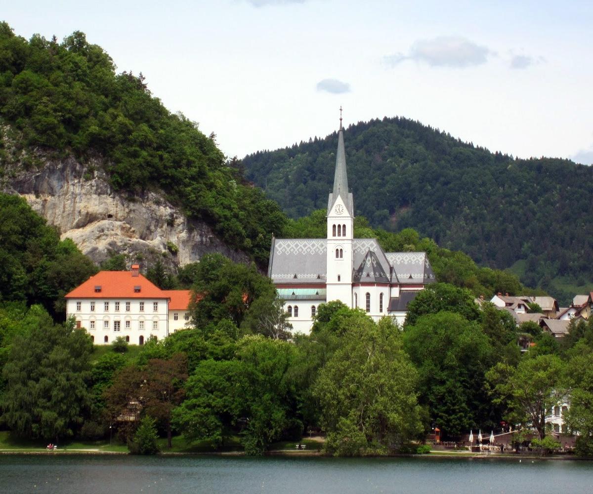 церковь святого Мартина на бегеру о. Блед