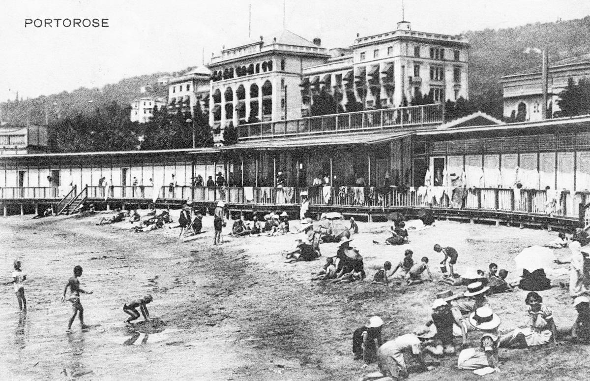 Порторож в начале XX века