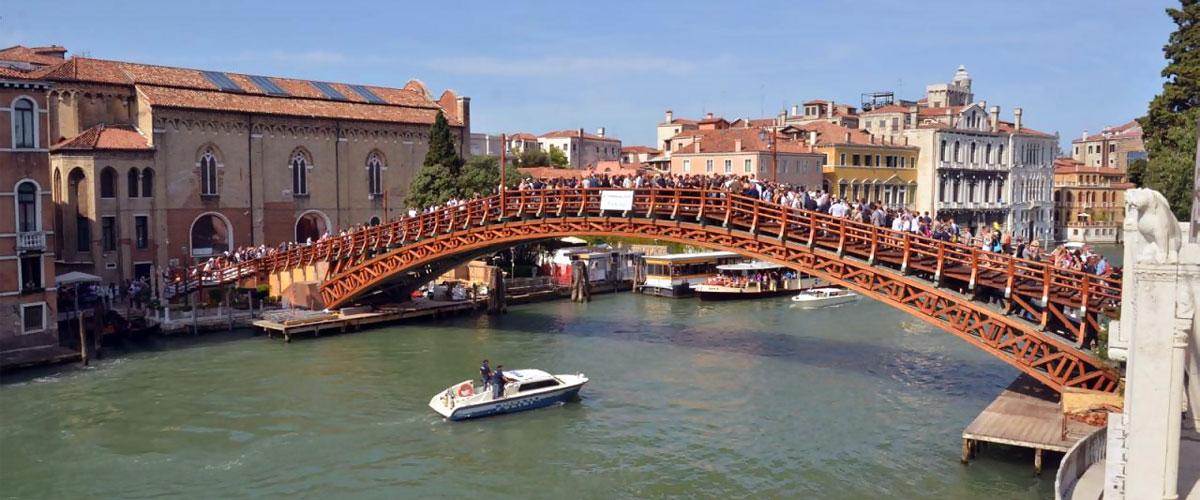мост Академии (Ponte delL'Accademia)