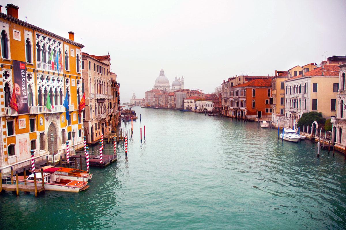 Большой канал (Canale Grande) Венеции