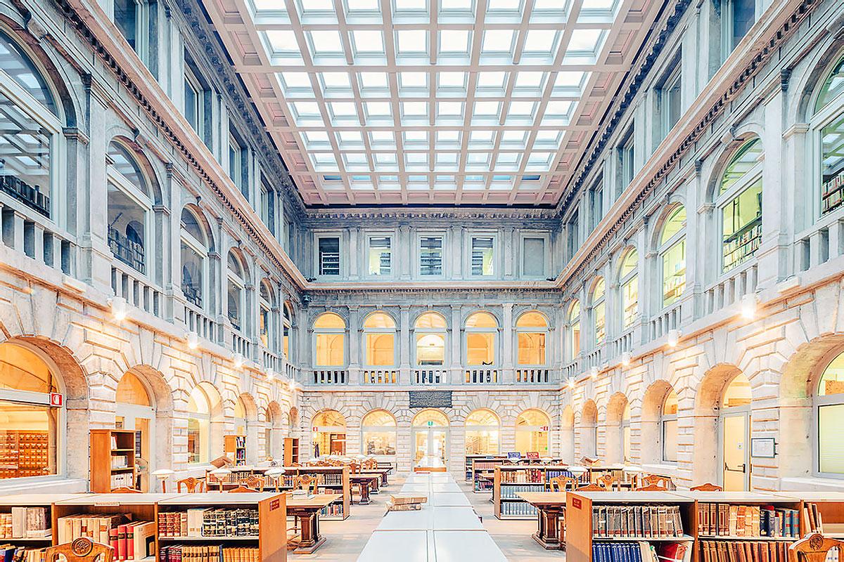 национальная библиотека Марчиана в Венеции