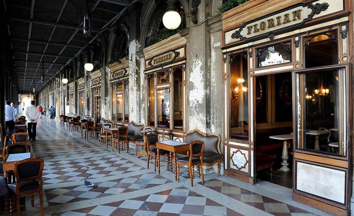 венецианское Caffè Florian