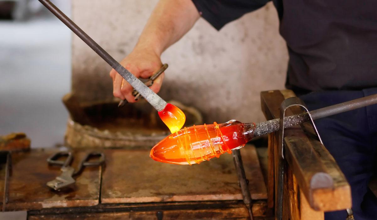 производство муранского стекла