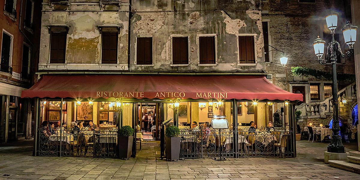 ресторан Antico Martini в Венеции