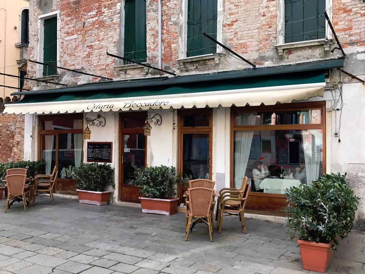 ресторан Osteria Boccadoro в Венеции