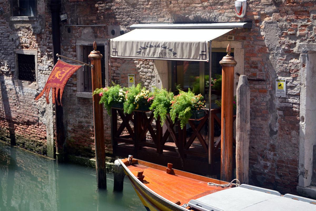 венецианский ресторан Osteria da Fiore