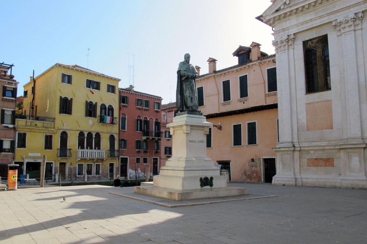 площадь Санта-Фоска в Венеции